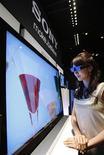 <p>Un televisore 3d della Sony REUTERS/Yuriko Nakao</p>