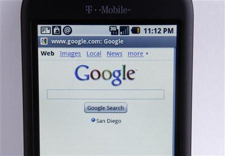 A T-Mobile G1 Google phone running Android is shown photographed in Encinitas, California, January 20, 2010. REUTERS/Mike Blake