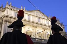 <p>Il teatro La Scala in foto d'archivio. REUTERS/Stefano Rellandini</p>