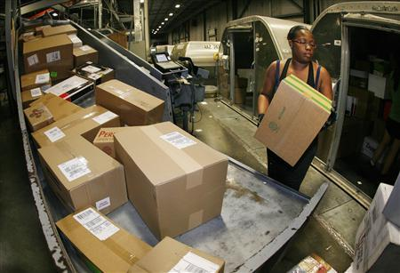 at ups hub touch a package pay for college reuters