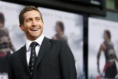 """<p>Ator Jake Gyllenhaal durante estreia do filme """"Príncipe da Pérsia"""" em Hollywood. O filme estreia em circuito nacional neste final de semana. 17/05/2010 REUTERS/Mario Anzuoni</p>"""