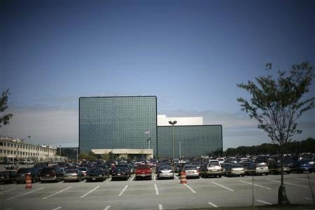 The National Security Agency building is shown in Fort Meade, Maryland September 19, 2007. REUTERS/Jason Reed