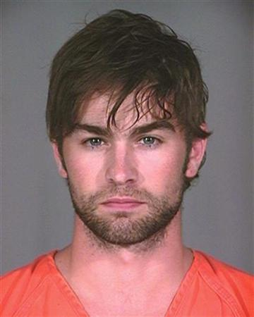 Actor Chace Crawford, star of the television drama series 'Gossip Girl', is shown in this booking mug shot from the Plano, Texas Police Department released to Reuters June 4, 2010. Crawford was arrested in Plano on possession of marijuana early Friday. REUTERS/Plano Police Department/Handout
