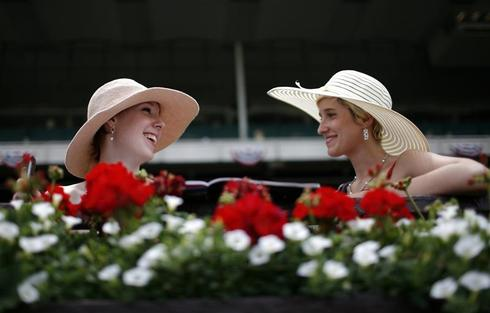 A day at the Belmont Stakes