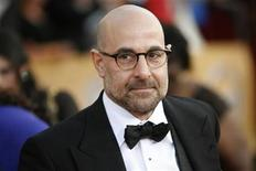 <p>Actor Stanley Tucci arrives at the 16th annual Screen Actors Guild Awards in Los Angeles January 23, 2010. REUTERS/Danny Moloshok</p>