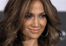 """<p>Jennifer Lopez promove o filme """"Plano B"""" em Colônia, na Alemanha. O filme estreia em circuito nacional nesta sexta-feira. 30/04/2010 REUTERS/Ina Fassbender</p>"""