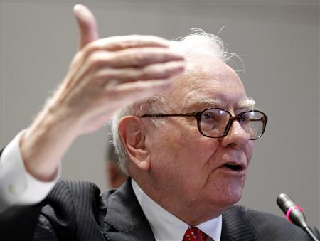 Chairman and Chief Executive Officer of Berkshire Hathaway Warren Buffett testifies before the Financial Crisis Inquiry Commission during a public hearing in New York in this June 2, 2010 file photo. REUTERS/Shannon Stapleton/File