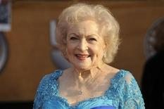 <p>Lifetime Achievement honoree Betty White arrives at the 16th annual Screen Actors Guild Awards in Los Angeles January 23, 2010. REUTERS/Phil McCarten (FILM-SAGAWARDS/ARRIVALS)</p>
