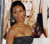 <p>Actress Jada Pinkett Smith poses at a film premiere in Los Angeles in this September 4, 2008 file photo. REUTERS/Fred Prouser</p>
