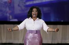 <p>Oprah Winfrey speaks to the audience during a special live show at Radio City Music Hall in celebration of O Magazine's 10th anniversary in New York City, May 7, 2010. REUTERS/Lucas Jackson</p>