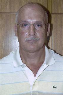 Robert Christopher Metsos, 55, a Canadian passport holder and alleged Russian spy wanted by the United States, is seen in this undated handout photo released by the Cyprus Police Department July 1, 2010. REUTERS/Cyprus Police Headquarters/Handout