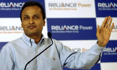 Anil Ambani, chairman of the Anil Dhirubhai Ambani group, gestures during a news conference in Mumbai February 24, 2008. REUTERS/Punit Paranjpe/Files