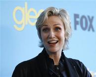 """<p>Atriz Jane Lynch durante festa de lançamento da segunda temporada da série de TV """"Glee"""" em Los Angeles. 12/04/2010 REUTERS/Mario Anzuoni/Arquivo</p>"""