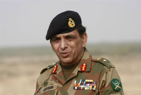 Pakistan's army chief General Ashfaq Kayani at the test-firing of a medium-range Shaheen-1 (Haft-IV) ballistic missile at an undisclosed location January 25, 2008. Pakistan's Prime Minister Yusuf Raza Gilani on Thursday extended Kayani's term by three years in a move to preserve continuity in fight against Islamist militancy. REUTERS/Stringer/Files