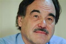 <p>Oliver Stone during a news conference in Caracas, May 28, 2010. REUTERS/Jorge Silva</p>