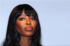 "<p>Naomi Campbell participa evento da Louis Vuitton. O depoimento da modelo sobre um ""diamante de sangue"" do ex-líder liberiano condenado por crimes de guerra Charles Taylor foi adiado para 5 de agosto. 01/07/2010 REUTERS/Jacky Naegelen</p>"