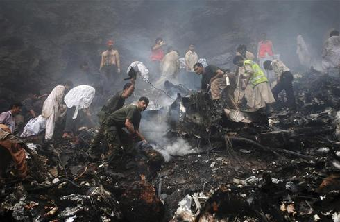 No survivors in Pakistan plane crash