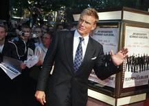 "<p>Swedish actor Dolph Lundgren arrives for the German premiere of his new movie ""The Expendables"" in Berlin, August 6, 2010. REUTERS/Thomas Peter</p>"