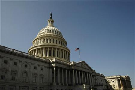 The United States Capitol building is seen in Washington in this March 19, 2010 file photo. REUTERS/Jim Bourg
