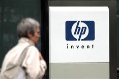 <p>Hewlett-Packard a lancé lundi une offre de 1,6 milliard de dollars (1,2 milliard d'euros) pour acquérir la société de stockage de données 3PAR, concurrençant l'offre de son rival Dell émise la semaine dernière. /Photo d'archives/REUTERS</p>
