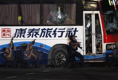 Bus hijack aftermath