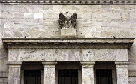 The U.S. Federal Reserve Building is pictured in Washington, December 15, 2009. REUTERS/Hyungwon Kang