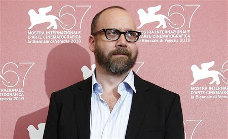 Actor Paul Giamatti poses during a photocall for the movie ''Barney's version'' at the 67th Venice Film Festival September 10, 2010. REUTERS/Tony Gentile