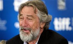 """<p>El actor Robert De Niro asiste a una conferencia de prensa para promover la película """"Stone"""" en la edición 35 del Festival Internacional de Cine de Toronto, septiembre 10, 2010. REUTERS/Fred Thornhill (CANADA)</p>"""