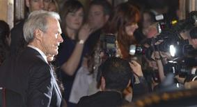 <p>Director Clint Eastwood arrives at the gala presentation for the film ' Hereafter' during the 35th Toronto International Film Festival, September 12, 2010. REUTERS/Fred Thornhill</p>