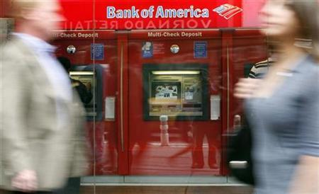 A Bank of America branch in New York, May 7, 2009. REUTERS/Shannon Stapleton