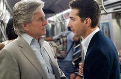 "<p>Michael Douglas and Shia LaBeouf in a scene from ""Wall Street: Money Never Sleeps"". REUTERS/20th Century Fox</p>"