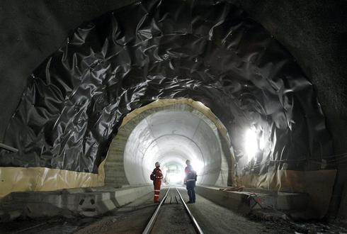 World's longest train tunnel