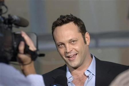 Actor Vince Vaughn in a file photo. REUTERS/Phil McCarten