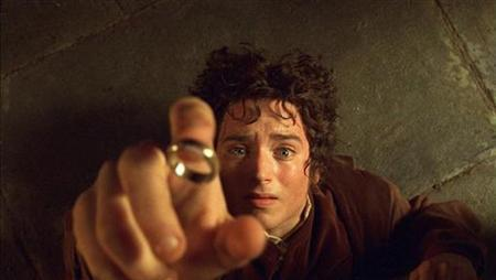Elijah Wood as Hobbit Frodo in a scene from ''The Lord of The Rings: The Fellowship of The Ring''. REUTERS/Handout