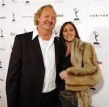 <p>U.S. actror Randy Quaid (L) and his wife Evi arrive for the Academy of Television Arts & Sciences party honoring the 57th annual Primetime Emmy Awards nominees for Outstanding Performing Talent at Spago in Beverly Hills, California September 16, 2005. REUTERS/Jim Ruymen</p>