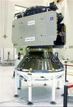 <p>Un des satellites du projet européen Galileo. Le gouvernement allemand a demandé à la Commission européenne de proposer des solutions pour réduire le coût de ce système européen de navigation par satellite, programme spatial le plus ambitieux mené seule par l'UE. /Photo d'archives/REUTERS</p>