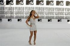 <p>Actress Audrina Patridge from 'The Hills' arrives at the 2010 MTV Video Music Awards in Los Angeles, California September 12, 2010. REUTERS/Lucy Nicholson</p>