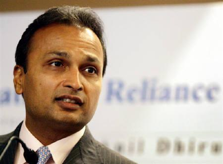 Anil Dhirubhai Ambani Enterprises group's Chairman Anil Ambani speaks during a news conference in Mumbai March 6, 2006. REUTERS/Punit Paranjpe/Files