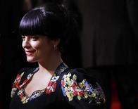 <p>Cantora britânica Lily Allen na estreia de Tamara Drewe em Londres. Allen, que estava grávida de aproximadamente seis meses, perdeu seu bebê. 06/09/2010 REUTERS/Andrew Winning</p>