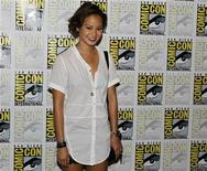"<p>Actress Jamie Chung, a cast member of the upcoming Warner Bros motion Picture ""Sucker Punch"", poses for a picture at Comic Con in San Diego, California July 24, 2010. REUTERS/Mike Blake</p>"