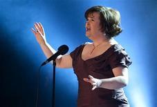 <p>Cantora Susan Boyle lidera paradas nos EUA e na Grã-Bretanha. REUTERS/Casper Christoffersen/Scanpix</p>