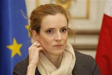 <p>La France dévoilera en 2011 un plan national d'adaptation au changement climatique afin d'atténuer les effets du réchauffement de la planète, indique la ministre de l'Ecologie Nathalie Kosciusko-Morizet. /Photo prise le 23 novembre 2010/REUTERS/Benoît Tessier</p>