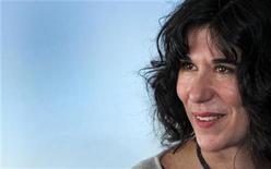 """<p>Diretora Debra Granik no Festival Americano de Cinema em Deauville. Seu filme """"Winter's Bone"""" venceu na segunda-feira o prêmio de melhor filme nos Gotham Awards, em Nova York. 05/09/11/2010 REUTERS/Vincent Kessler</p>"""