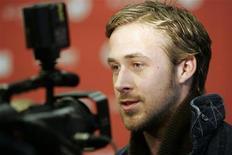 """<p>Ryan Gosling divulga o filme """"Blue Valentine"""" no Festival de Sundance, em janeiro. O ator revelou que foi demitido do filme de 2009 """"Um Olhar do Paraíso"""" porque engordou 27 quilos 24/01/2010/Arquivo</p>"""