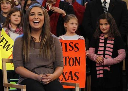 Bristol Palin , the daughter of conservative politician Sarah Palin, appears on ABC's 'Good Morning America' show in New York November 24, 2010. REUTERS/Brendan McDermid