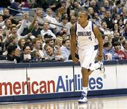 """<p>Кэрон Батлер из """"Далласа"""" во время игры против """"Хьюстона"""", 29 ноября 2010 года. """"Даллас"""" обыграл """"Голден Стейт"""" со счетом 105-100, что стало десятой победой кряду для клуба в рамках текущего сезона Национальной баскетбольной ассоциации (НБА). REUTERS/Mike Stone</p>"""
