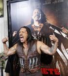 """<p>O ator Danny Trejo na estreia do filme """"Machete"""" em Los Angeles. 25/08/2010 REUTERS/Mario Anzuoni/Arquivo</p>"""
