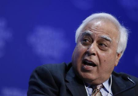 File photo of Kapil Sibal at the World Economic Forum in Davos, January 31, 2009. REUTERS/Pascal Lauener/Files