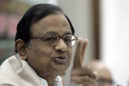 India's Home Minister Palaniappan Chidambaram speaks during a news conference in Srinagar, October 14, 2009. REUTERS/Danish Ismail/Files