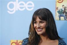 """<p>Imagen de archivo de la actriz de """"Glee"""" Lea Michele, durante el lanzamiento de la segunda temporada de la serie en Los Angeles. Sep 7 2010 Para medir el impacto de la serie """"Glee"""" en la música pop en el 2010, sólo recuerde esto: los marginados sociales de la escuela McKinley High ahora tienen un lugar en la historia de la industria cerca de The Beatles. REUTERS/Mario Anzuoni/ARCHIVO</p>"""